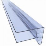 2180 - End profile in polycarbonate