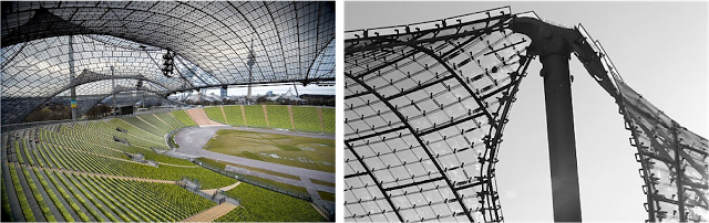 Olympic Stadium, Munich 1972. Frei Otto and Günther Behnish.